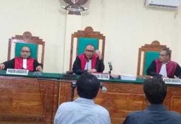 Dua Terdakwa Hasil OTT KPK di Bengkulu Divonis 2 Tahun…