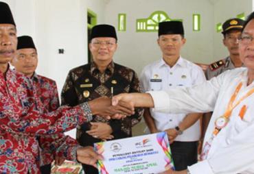 PT Pelindo II Serahkan Bantuan Ke Masjid Nurul Amal Rp 50…