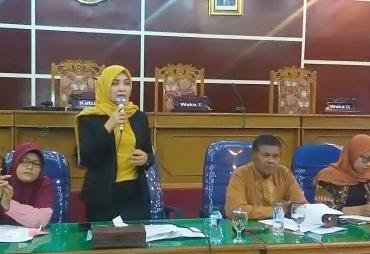 Kuliah Umum DPRD Kota Bengkulu Bersama Ratusan Mahasiswa