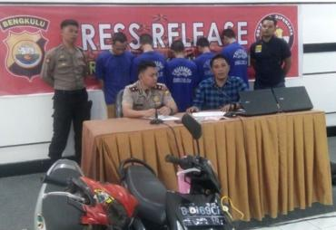 Operasi Musang Nala, Polres BS Bekuk 7 Pelaku Kejahatan
