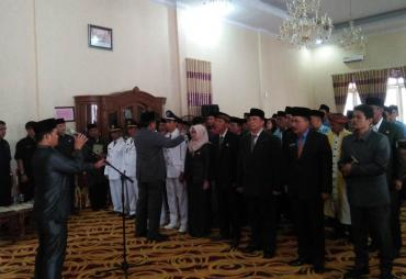Bupati Mian Lantik Pejabat Eselon III dan IV Bengkulu Utara…