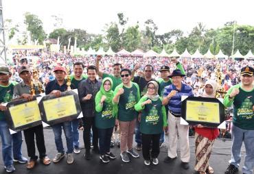 Mendes PDTT Hadiri Kenduren 2020 di Jombang