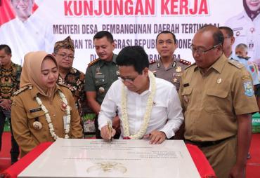Mendes PDTT Resmikan Lomba BUMDes se- Indonesia