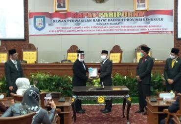 Pemprov Bengkulu Kembali Raih WTP dari BPK