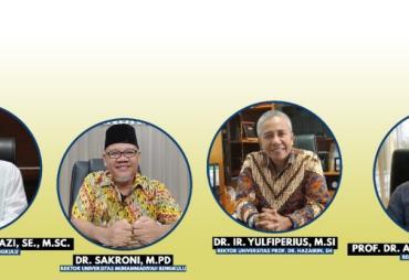 Para Rektor Sebut Hattrick WTP Pemprov Bengkulu Topang…