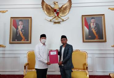 Gubernur Bengkulu Jadi Dewan Pembina SMSI Bengkulu