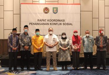 Provinsi Bengkulu Peringkat 13 Nasional Penanganan Konflik…