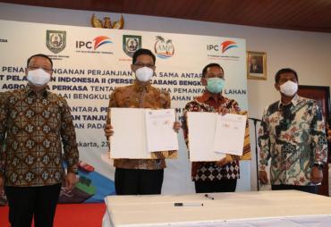 Rohidin Dorong PT. Pelindo II Jadikan Pelabuhan Pulau Baai…