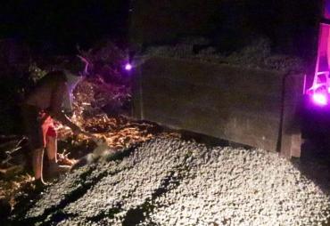 Satgas TMMD Didroping Batu Kris Untuk Jembatan Beton