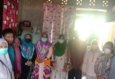 Dinsos dan Dinkes Kota Bengkulu Salurkan Bantuan pada Warga