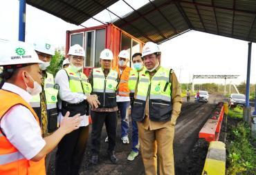 Dorong BUMD Kelola Fasilitas Pelabuhan, Rosjonsyah Sambangi…