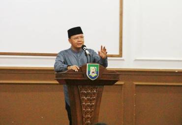 Jelang PON Papua,  Gubernur Rohidin Minta Cabor Unggulan…