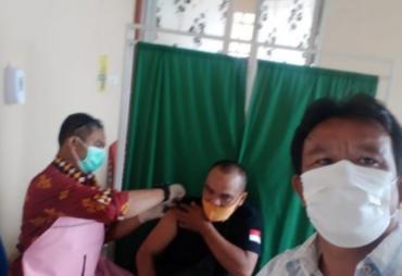 DPC KWI Tanggamus di Vaksinasi Ke 2