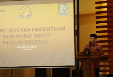 Tahun Ini, Bank Wakaf Mikro akan Berdiri di Bengkulu