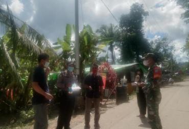 Imbau PPKM Skala Mikro, TNI / Polri Bersama Aparatur Desa,…