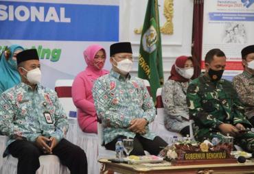 Puncak Peringatan HARGANAS ke-28, Gubernur Rohidin: Jadikan…