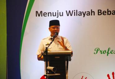 Gubernur Rohidin : Pencanangan WBK dan WBBM Menjadi…