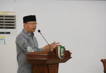 Gubernur Rohidin : Revolusi Mental bagi ASN modal Dasar…