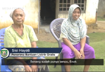 Program Listrik Gratis Rohidin-Rosjonsyah, Penerima Bantuan…