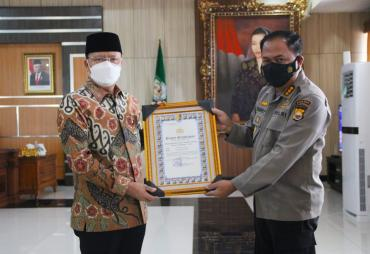 Gubernur Rohidin : Penghargaan dari Kapolri Bentuk…