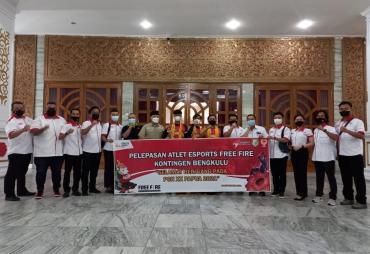 Gubernur Rohidin Lepas Atlet FreeFire Esport Bengkupu pada…