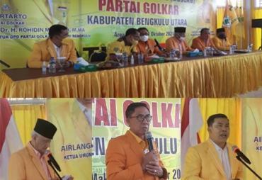 DPD Partai Golkar Bengkulu Utara Gelar Muscam dan…