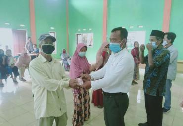 Pekon Kali Miring Bagikan BLT DD Tahap 9 Tahun 2021