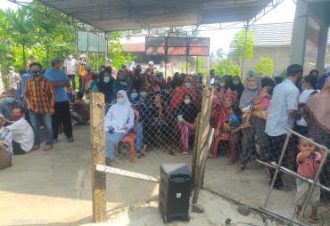 Pekon Bandar Sukabumi Sukseskan Vaksinasi